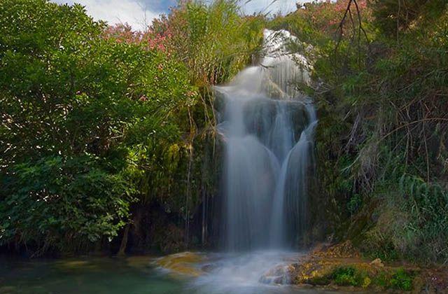 Wasserfälle Andalusiens - Caños del río Chillar. Fotografía de Antonio Sánchez