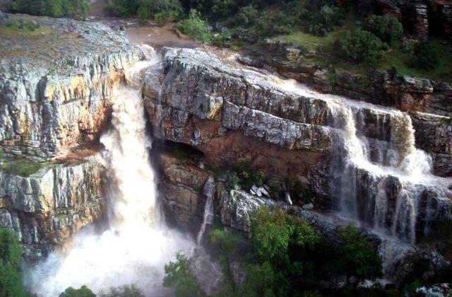 Wasserfälle Andalusiens - Cascada de Cimbarra. Fotografía de andalucia.org