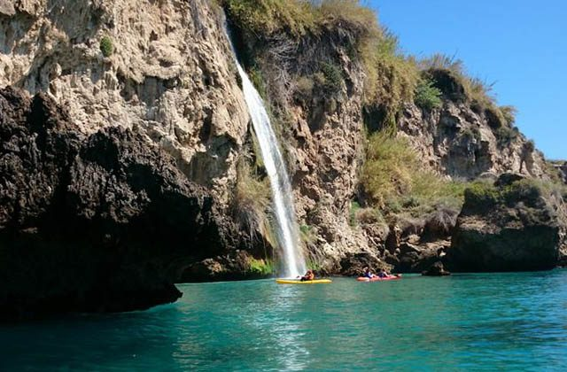 Wasserfälle Andalusiens - Cascada de Maro. Fotografía by Educare Aventura
