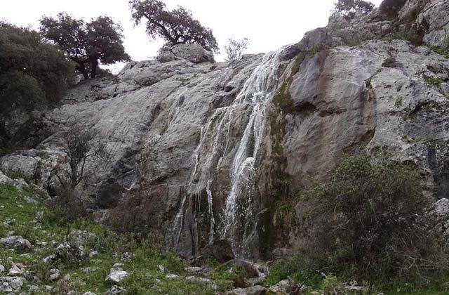 Wasserfälle Andalusiens - Cascada de Mitano, Grazalema