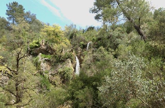 Cascada de Santa Ana