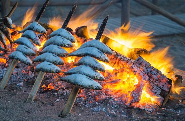 Things to do in Estepona: Espeto de sardinas