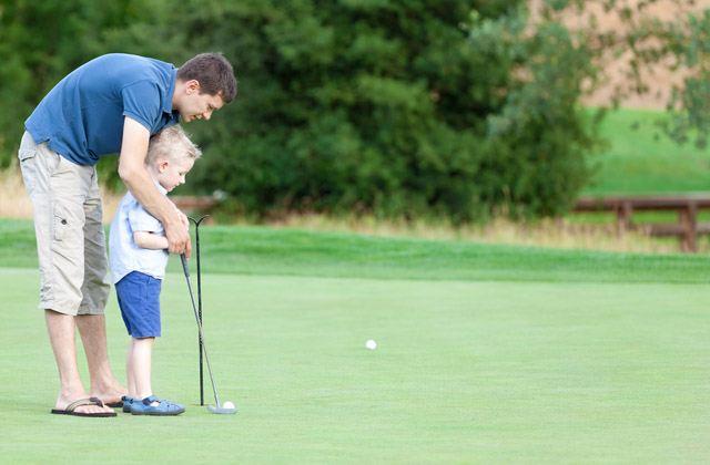 Golf para niños.