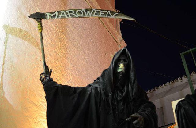 Maroween. Fotografía de Nerja Today