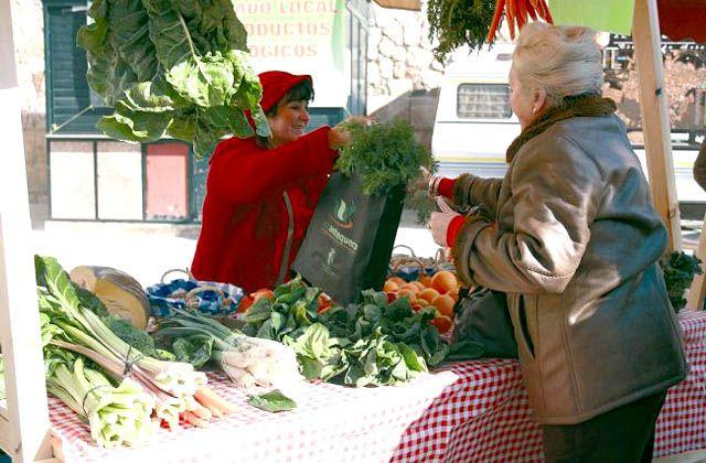Mercados ecológicos - Mercadillo Ecológico de Antequera. Fotografía de Andalucía Información