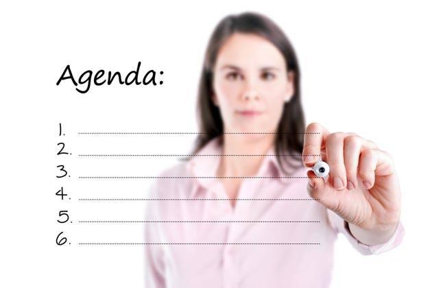 Planifícate con una agenda