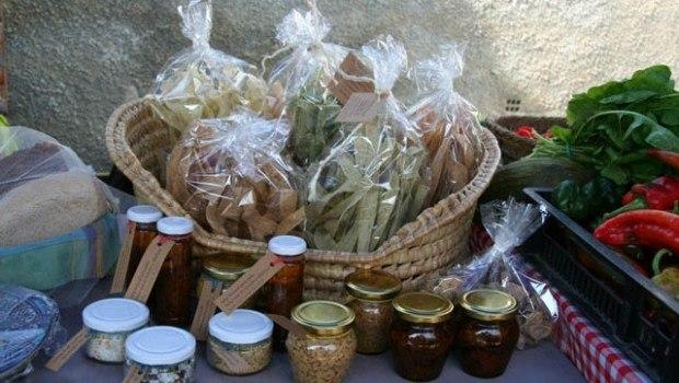 Productos ecológicos, Mercadillo de La Viñuela