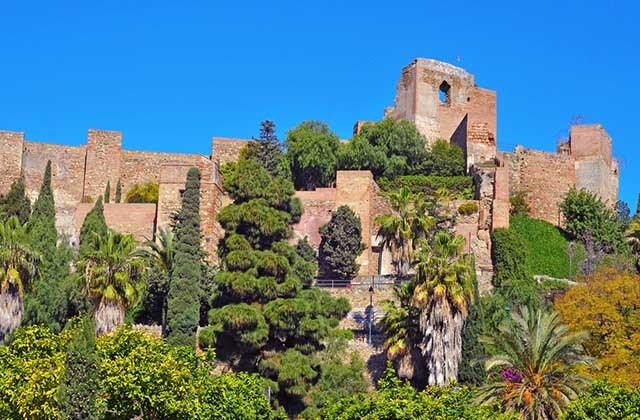 Al Ándalus - Alcazaba, Málaga