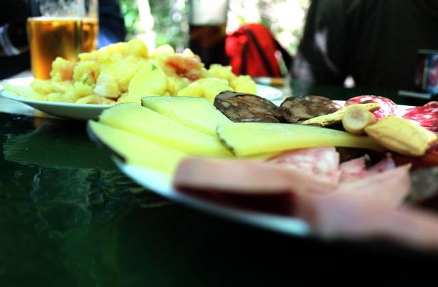 Chacina y quesos de Cádiz
