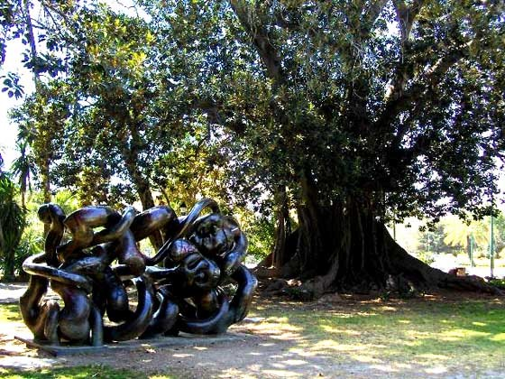 Ruta Picassiana - Jardines de Picasso