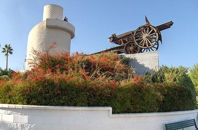 Los mejores parques infantiles en Málaga - Parque de la Batería, Torremolinos