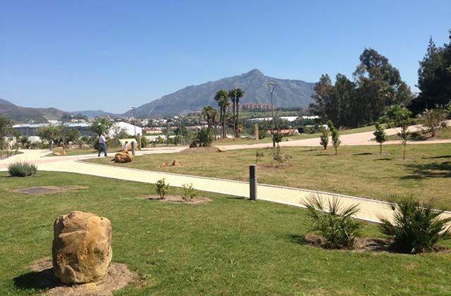 Parque de los Tres Jardines, San Pedro, Marbella