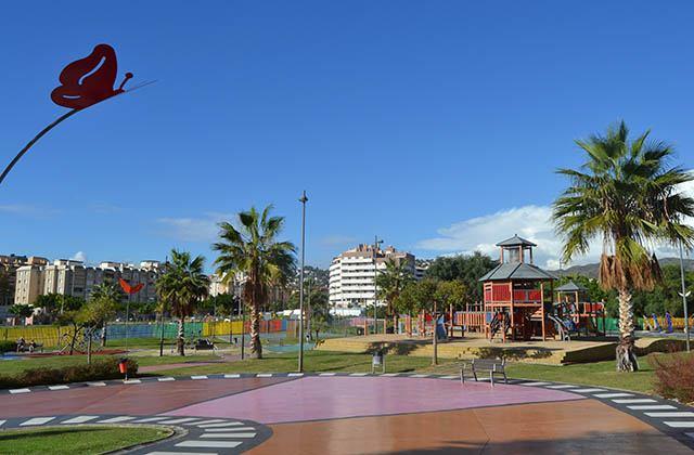 Los mejores parques infantiles en Málaga - Parque del Cine, Málaga