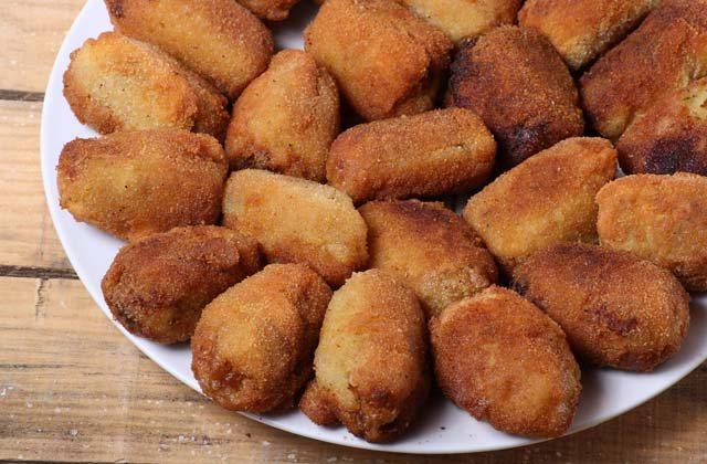 tapas à Málaga - Las croquetas de puchero d'El Pimpi