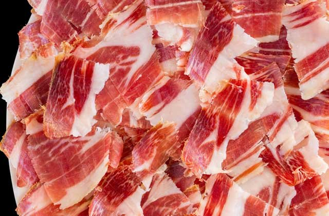 The best tapas in Malaga - Iberian ham