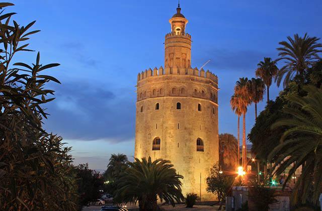 Al Andalus en Andalousie - Torre del Oro, Sevilla