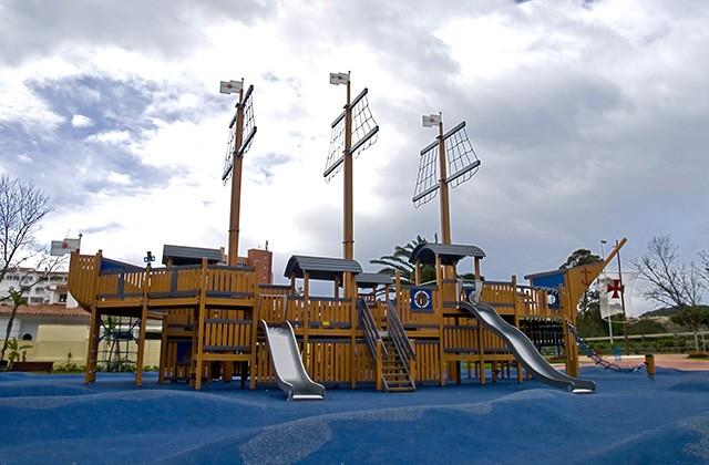 Los mejores parques infantiles en Málaga - Parque de Poniente, Fuengirola