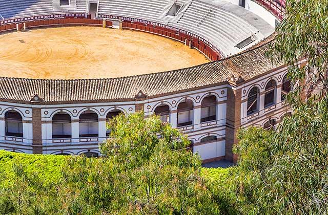 Place des taureaux de la Malagueta