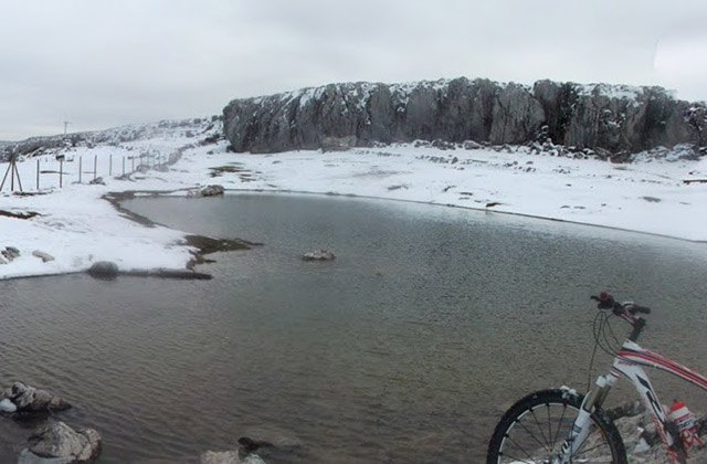 10 places to enjoy the snow in Andalucia - Charco del Negro
