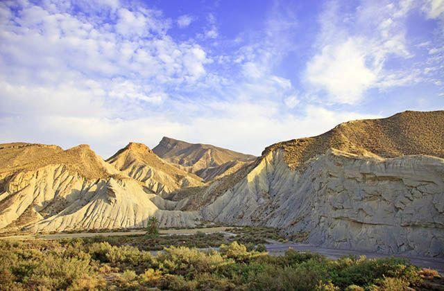Las maravillas naturales de Andalucía - Desierto de Tabernas