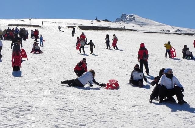 10 places to enjoy the snow in Andalucia - Hoya de la Mora