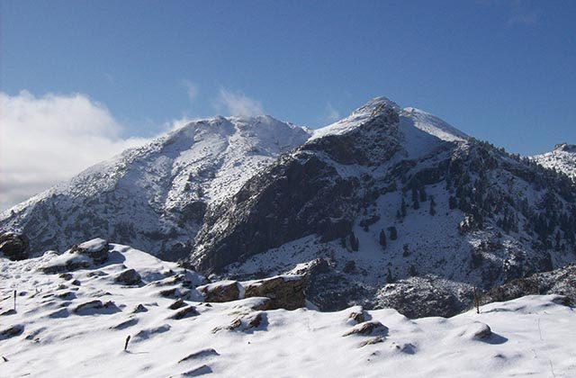 10 Routen, um den Schnee in Andalusien zu genießen - Torrecilla