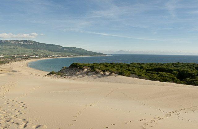 Las maravillas naturales de Andalucía - Playa de Bolonia, Tarifa