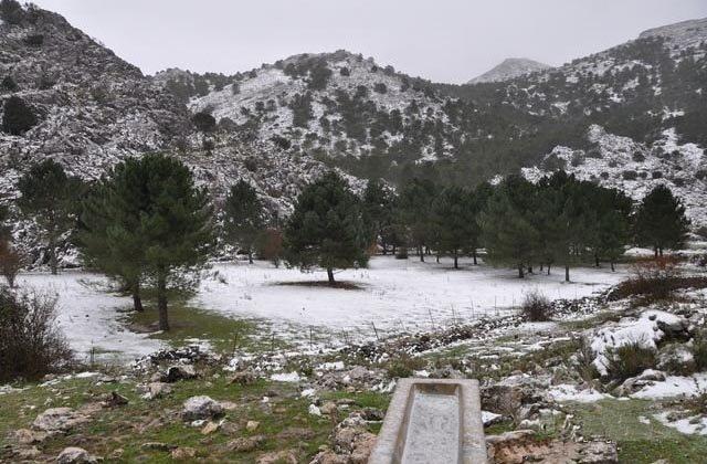 10 places to enjoy the snow in Andalucia - Puerto del Boyar