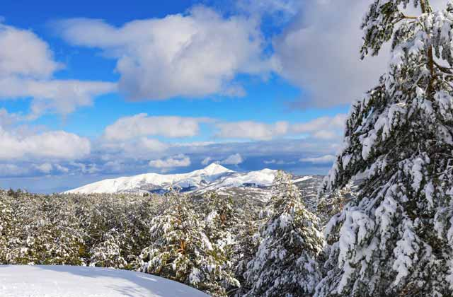 Nieve en Andalucia