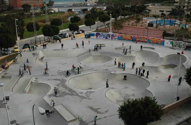 Skate Park, Fuengirola. Photographie: streetboardermag.com