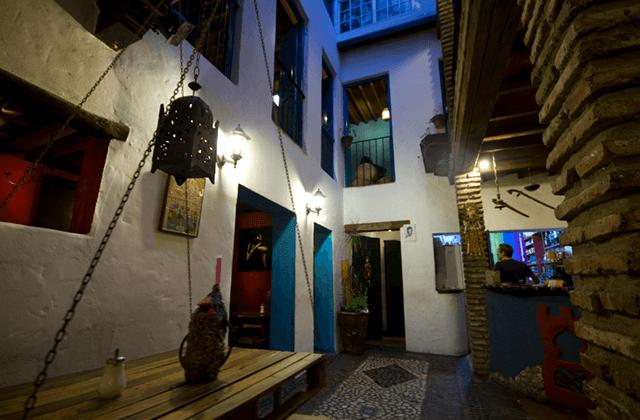 Cafeterías en Málaga - Tetería El Harén. Fotografía: gastronomiamalaga.es