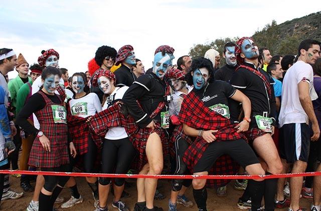 Fiestas curiosas - Eternal Running de Iznájar. Fotografía: triavent.blogspot.com
