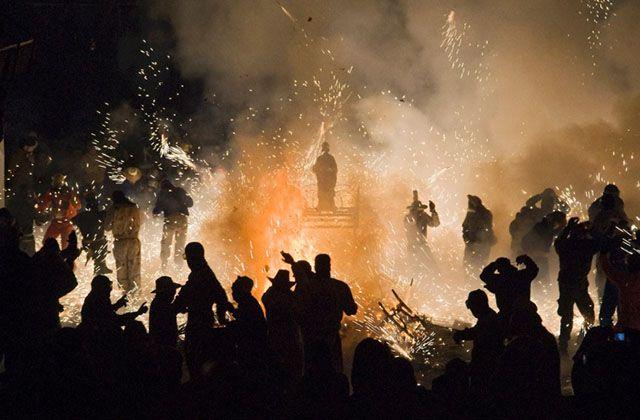 Fiestas curiosas - Fiesta de las Carretillas y los Roscos. Fotografía: iaph.es