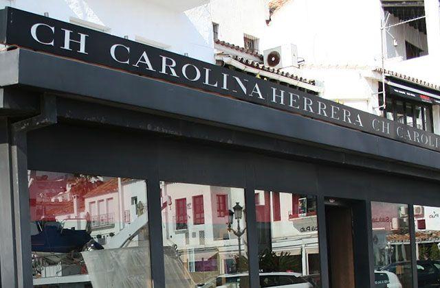 Marbella shopping - Carolina Herrera