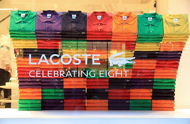 Marbella shopping - Lacoste