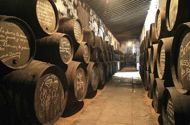 Bodegas de Jerez. Fotografía: cadizturismo.com