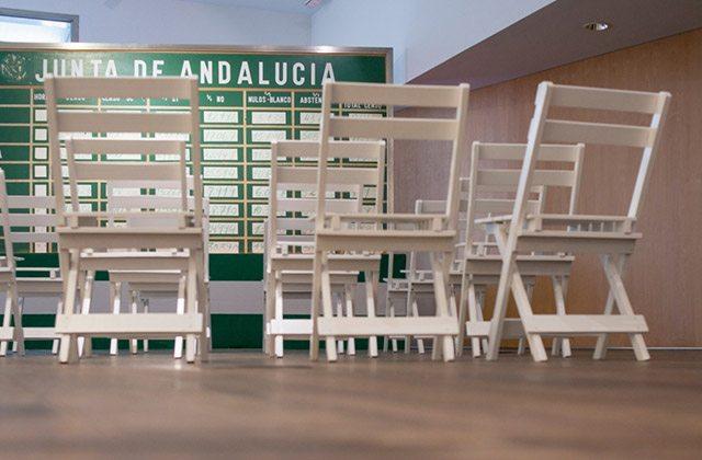 Votes simulation in the Andalucian Autonomy Museum. Photo: centrodeestudiosandaluces.es