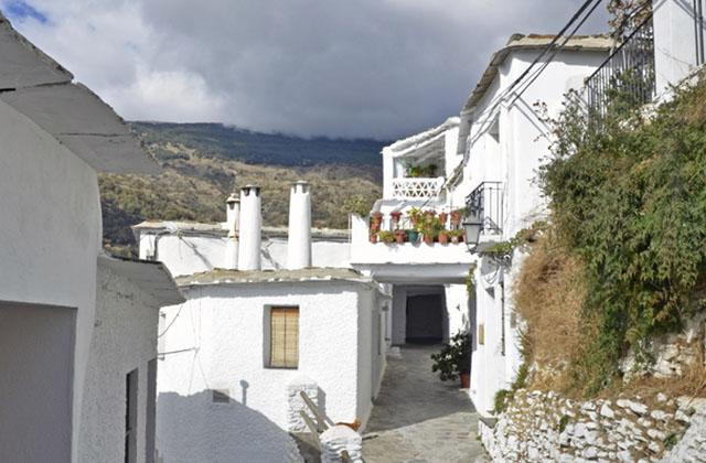 Casas típicas de Las Alpujarras