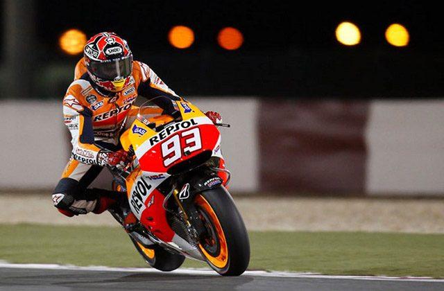 El piloto Marc Márquez en el circuito de Jerez. Fotografía: cadizprovincia.com