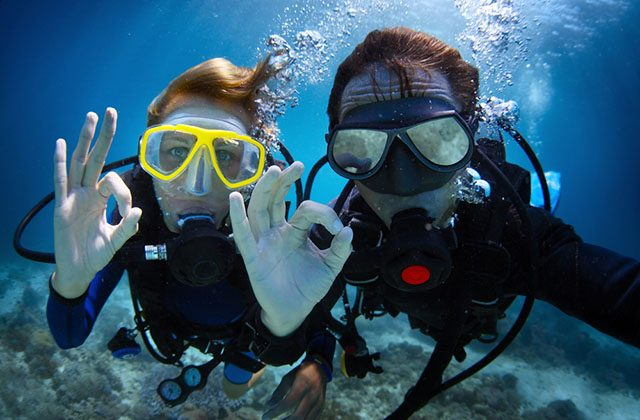 Valentine's Day in Andalucia - Baptism diving in the Costa del Sol