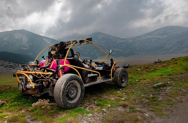 Valentine's Day in Andalucia - buggy routes