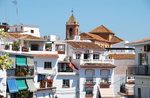 routes Gran Senda 5 étapes pour parcourir l'Axarquía - Torrox