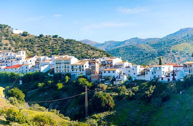 Route du Raisin - Totalán, Málaga
