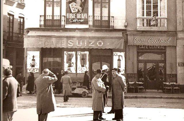 Instantánea antigua del Café Central. Fotografía: cafecentralmalaga.com