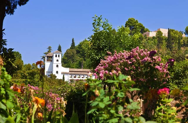 10 places in Andalucia where it should always be spring: visit them: Jardines del Generalife