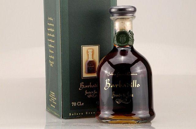 Andalucian brandies - Barbadillo Decanter Gran Reserva. Fotografía: rumundco.de