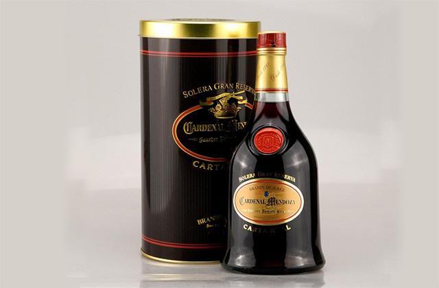Brandy de l'Andalousie - Cardenal Mendoza Carta Real. Fotografía: rumundco.de