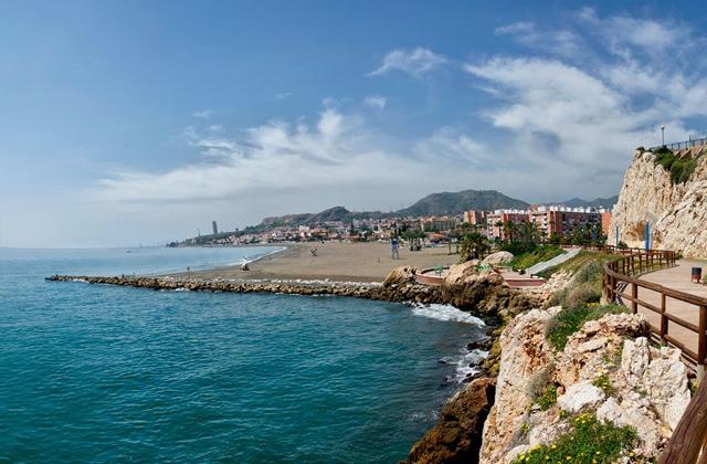 Costa del Sol beaches - CALA DEL MORAL