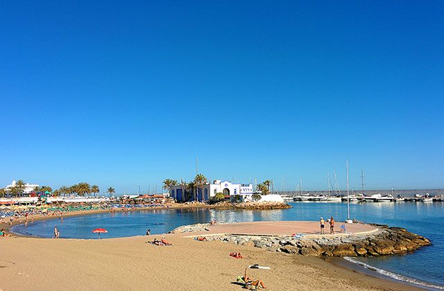 Costa del Sol beaches - Playa El Faro