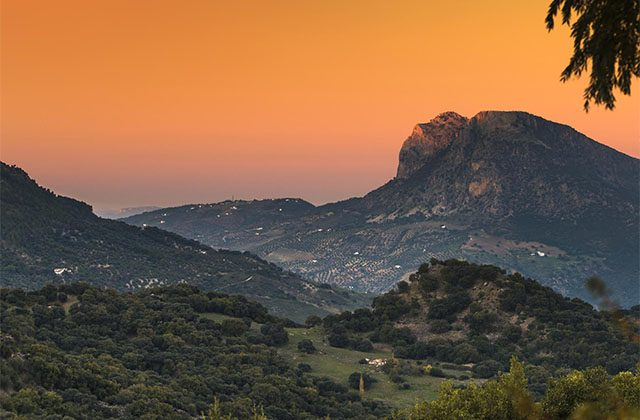 Sunsets in Andalucia - Grazalema